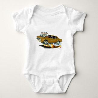 1970 Roadrunner Brown Car Baby Bodysuit