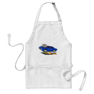 1970 Roadrunner Dark Blue Car Adult Apron
