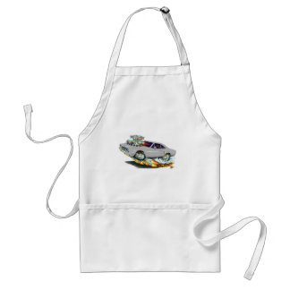 1970 Roadrunner Grey Car Adult Apron