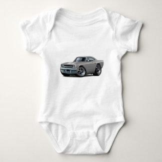 1970 Roadrunner Grey Car Baby Bodysuit