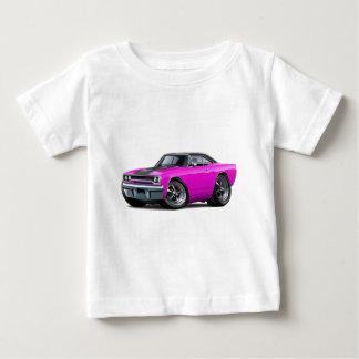 1970 Roadrunner Pink-Black Top Tshirts