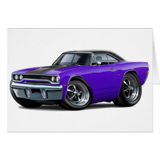 1970 Roadrunner Purple-Black Top Card