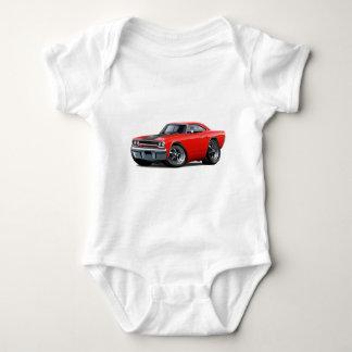 1970 Roadrunner Red-Black Baby Bodysuit