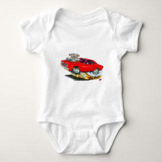 1970 Roadrunner Red Car Baby Bodysuit
