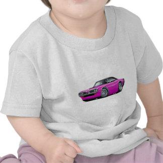 1970 Super Bee Pink-Black Top Car Tee Shirt