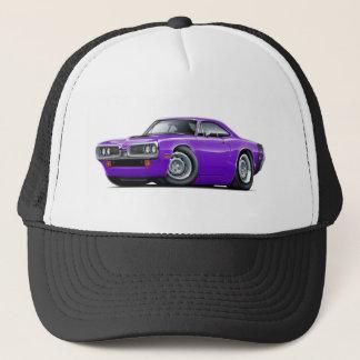1970 Super Bee Purple-Black Car Trucker Hat