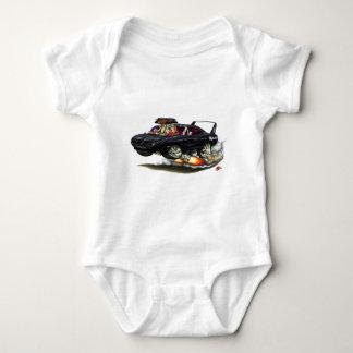 1970 Superbird Black Car Baby Bodysuit