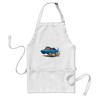 1970 Superbird Blue Car Adult Apron