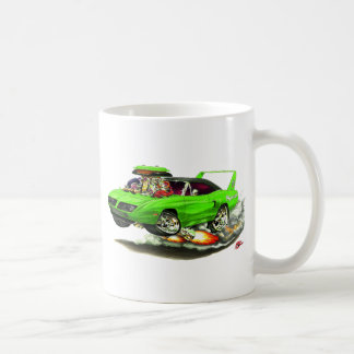 1970 Superbird Green Car Coffee Mug