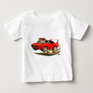 1970 Superbird Red Car Baby T-Shirt