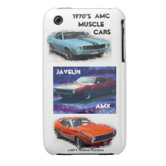 1970'S AMC MUSCLE CARS iPhone 3 Case-Mate CASE