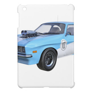 1970's Blue and White Muscle Car Cover For The iPad Mini
