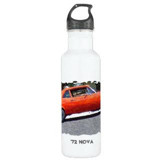 1970s Orange Nova Digital Art 710 Ml Water Bottle