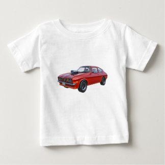 1970's Red Muscle Car Baby T-Shirt