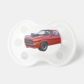 1970's Red Muscle Car Pacifier