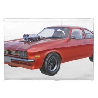 1970's Red Muscle Car Placemat