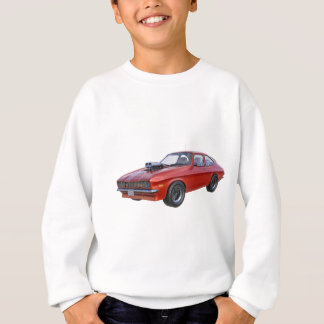1970's Red Muscle Car Sweatshirt