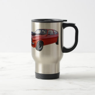 1970's Red Muscle Car Travel Mug