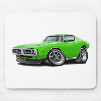 1971-72 Charger Lime Chrome Bumper Mouse Pad