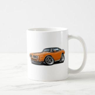 1971-72 Charger Orange-Black Top Car Coffee Mug