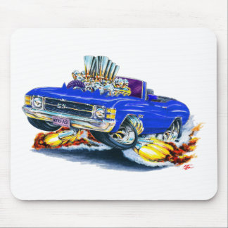 1971-72 Chevelle Blue Convertible Mouse Pad