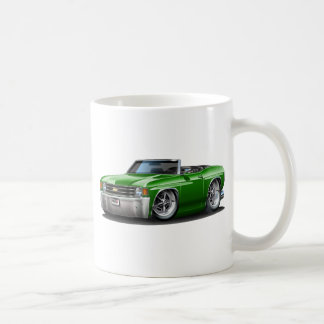 1971-72 Chevelle Green Convertible Coffee Mug