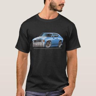 1971-72 Chevelle Lt Blue-White Car T-Shirt