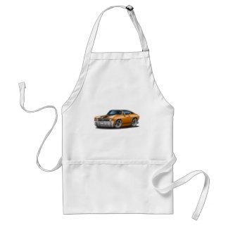 1971-72 Chevelle Orange-Black Top Car Standard Apron