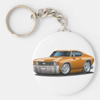 1971-72 Chevelle Orange Car Keychain