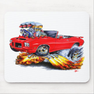1971-72 GTO Red Convertible Mouse Pad