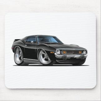 1971-72 Javelin Black Car Mouse Pad