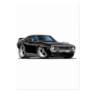 1971-72 Javelin Black Car Postcard