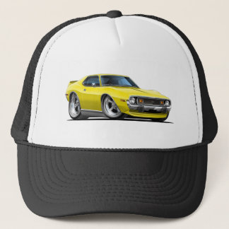 1971-72 Javelin Yellow Car Trucker Hat