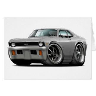 1971-72 Nova Silver Car Card