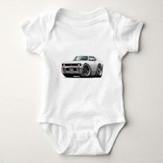 1971-72 Nova White Car Baby Bodysuit