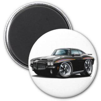 1971 GTO Judge Black Car Magnet
