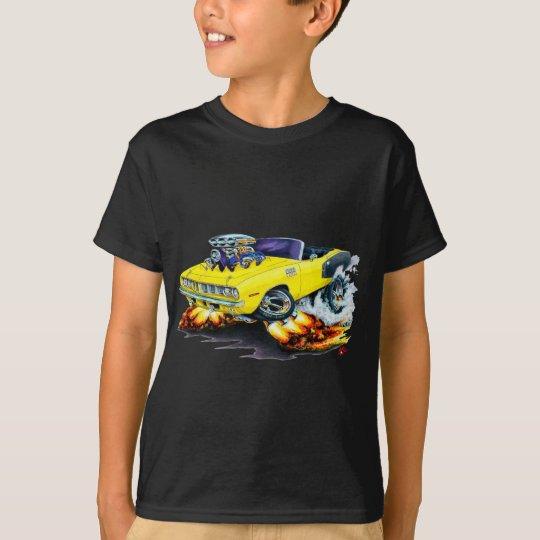 1971 Hemi Cuda Yellow Convertible T-Shirt