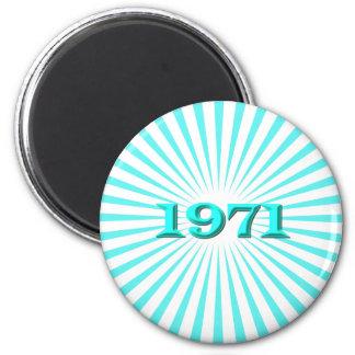 1971 MAGNETS POUR RÉFRIGÉRATEUR