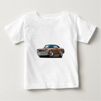 1971 Monte Carlo Brown-Black Top Car