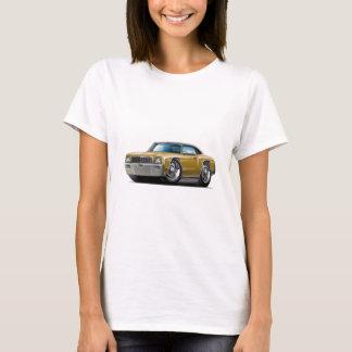 1971 Monte Carlo Gold-Black Top Car