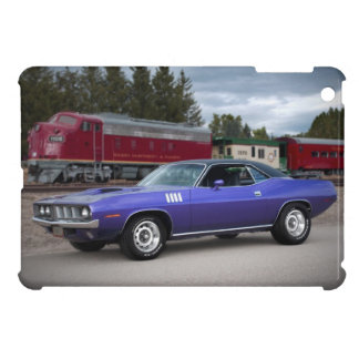 1971 Plymouth Barracuda Cuda Mopar Muscle Car iPad Mini Cover
