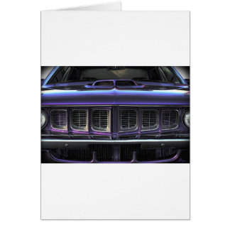1971 Plymouth 'Cuda Card
