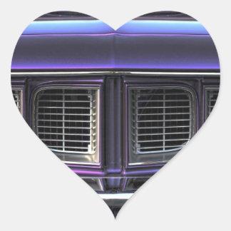 1971 Plymouth 'Cuda Heart Sticker
