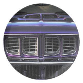 1971 Plymouth 'Cuda Plate