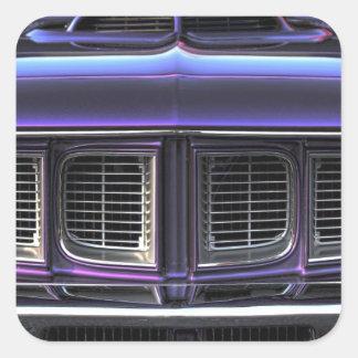 1971 Plymouth 'Cuda Square Sticker