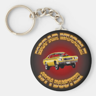 1971 Plymouth Duster Keychain. Keychain