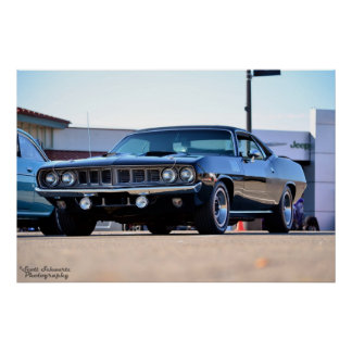 1971 Plymouth Hemi Cuda Poster