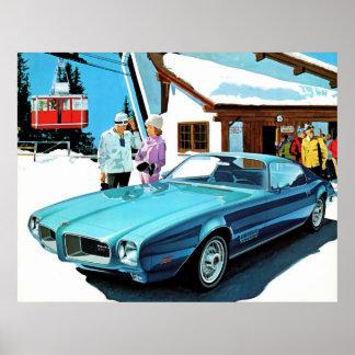 1971 Pontiac Firebird Espirit Poster