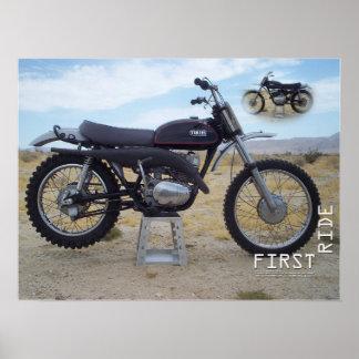1971 Yamaha RT1 360MX Poster