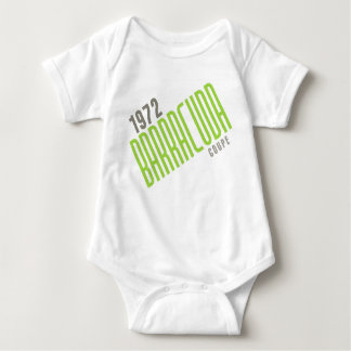 1972 Barracuda Coupe - Limelight Poly Baby Bodysuit